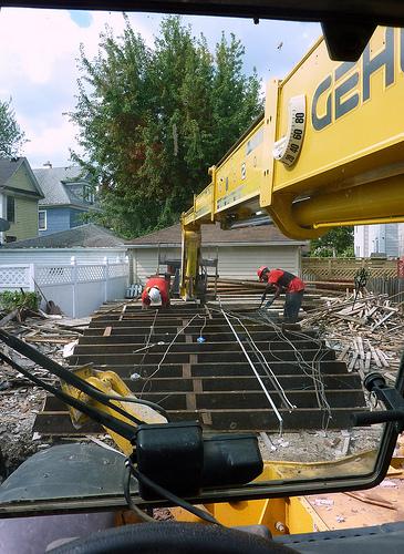 Green demolition a cost effective safe environmentally