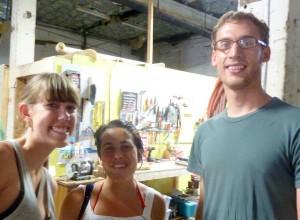 Whitney, Maura and Matt