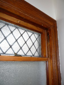 Leaded glass rebuilt
