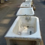 Lafayette Hotel Salvage - Tubs