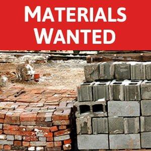 Materials Wanted