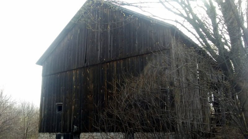 Rebuilding Opportunity 19th Century Barn For Sale As A